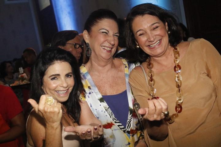 Tina Lima, Miela  Machado e Monica Lima