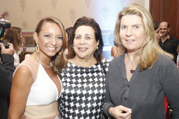 Adriana Mota, Isabel Souto e Cristina Melo