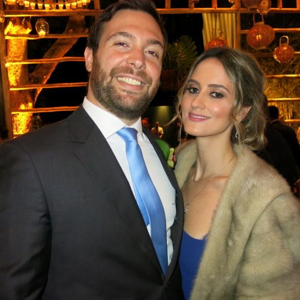 Antonio Pedro Raposo e Cynthia Demant