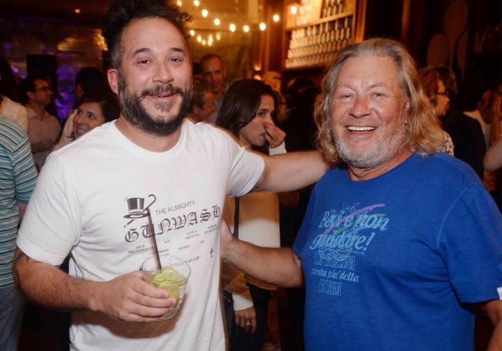 Carlo Mirarchi e o chef Luciano Boseggia (Custom)