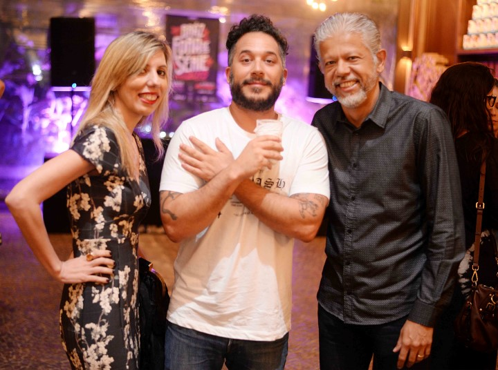 Cintia e Fernando Martins com Carlo Mirarchi (Custom)