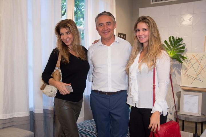 Gorete Colaço, Zeco Beraldin e Aline Araujo