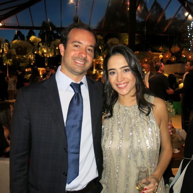 Antonio Nascimento Brito e Bianca Saks