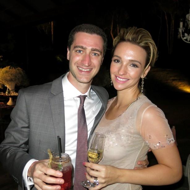 Marcelo Santos e Luiza Gerk