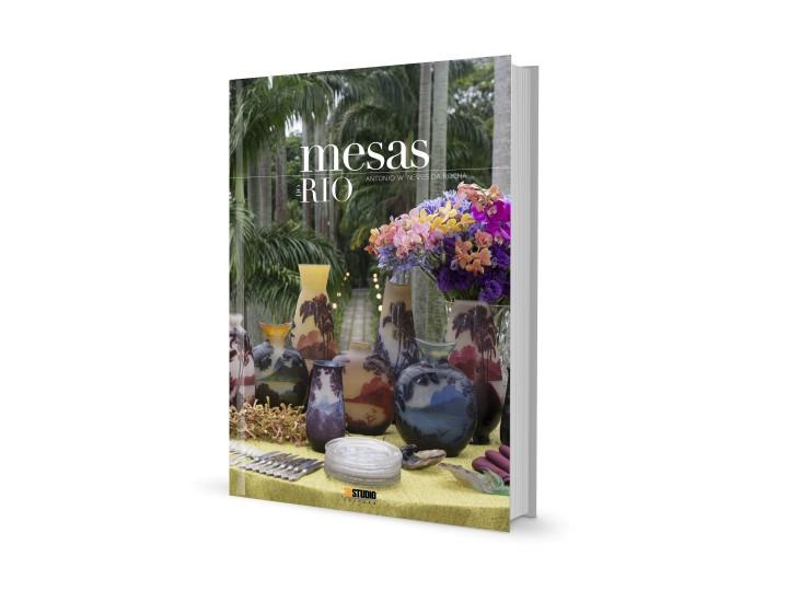 """A capa do livro """"Mmesas do Rio de Antônio W.Neves da Rocha"""