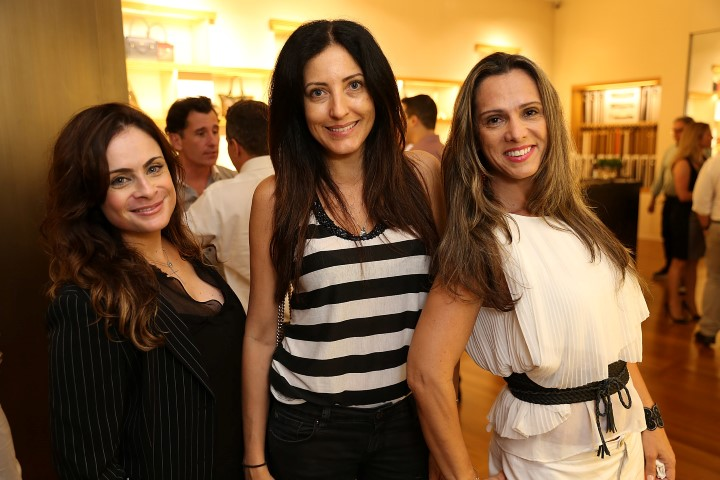 Alessandra Lacet, Andrea Chaves e Cris Oliveira