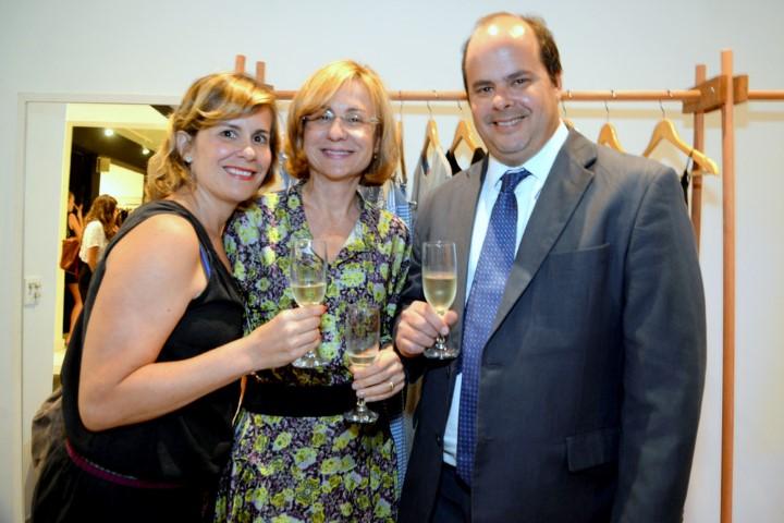 Ilka Secco, Eunice Faveret e Jaime Secco (Custom)