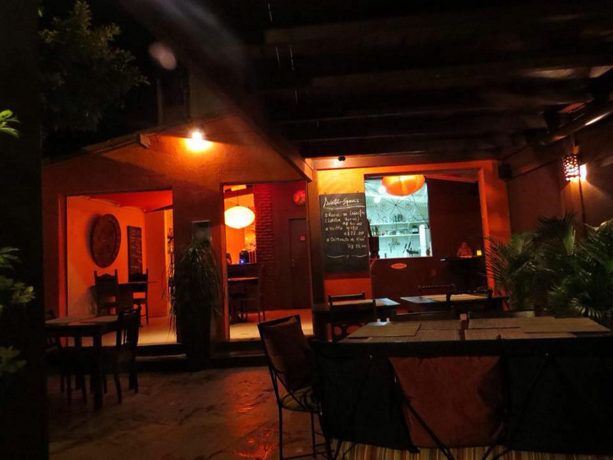 O restaurante Pacífico o melhor da Praia da Pipa