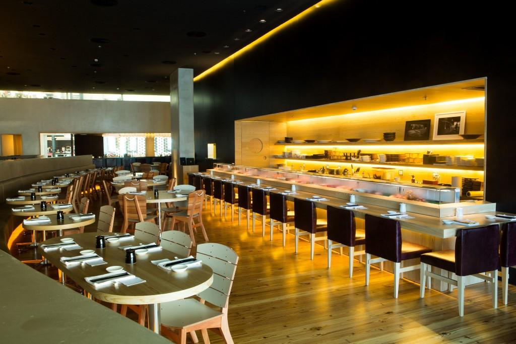 O restaurante nagayama o carro chefe dos restaurantes do Village Mall