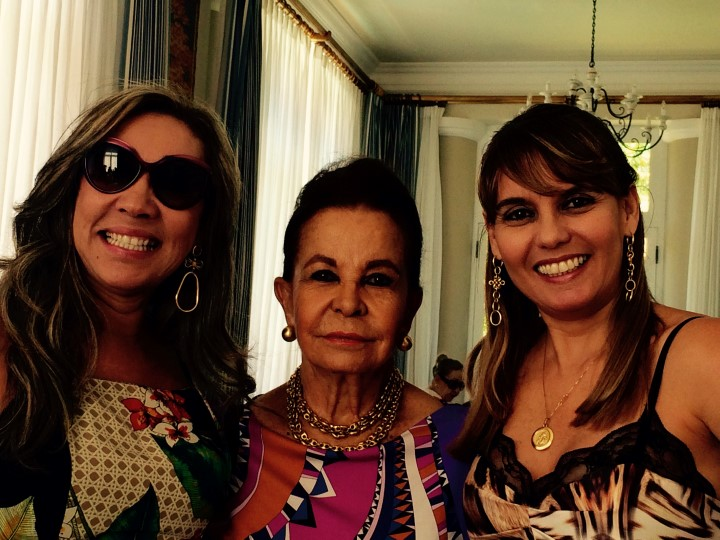 Maria Helena Mendonça, Karla Borges e Lila Moraes Kunz