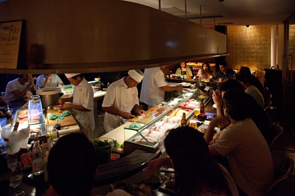 Sushi Leblon o mais badalado de todos os restaurantes