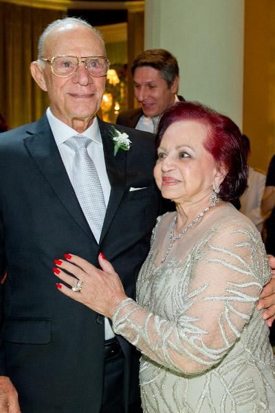 Bodas de Diamante de Valire e Max Gollo movimenta a família Gollo com festa no Belmond Copacabana Palace