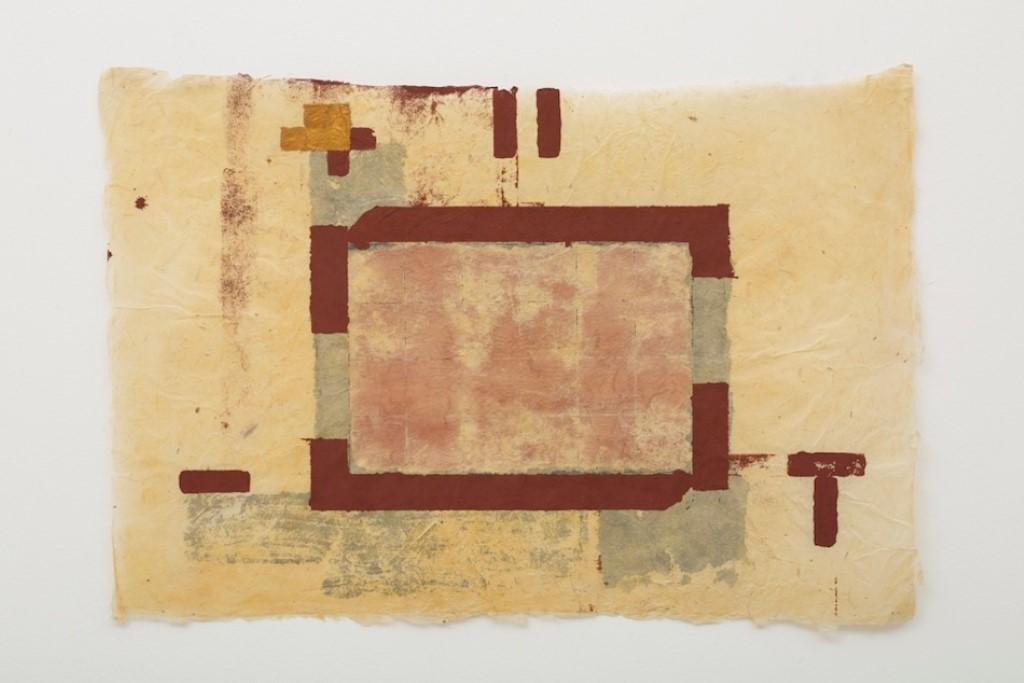 """""""Papéis do Nepal 1977 — 1986"""" a linda exposição de Antônio Dias na Galeria Nara Roiesler"""