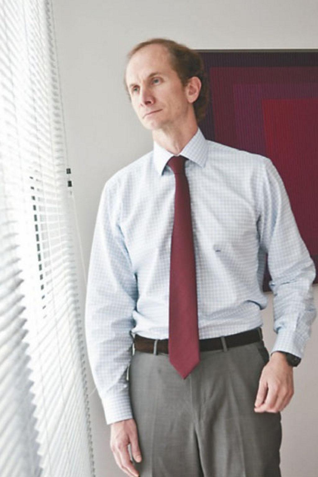 Alessandro Horta o comandante dos investimentos da Vinci