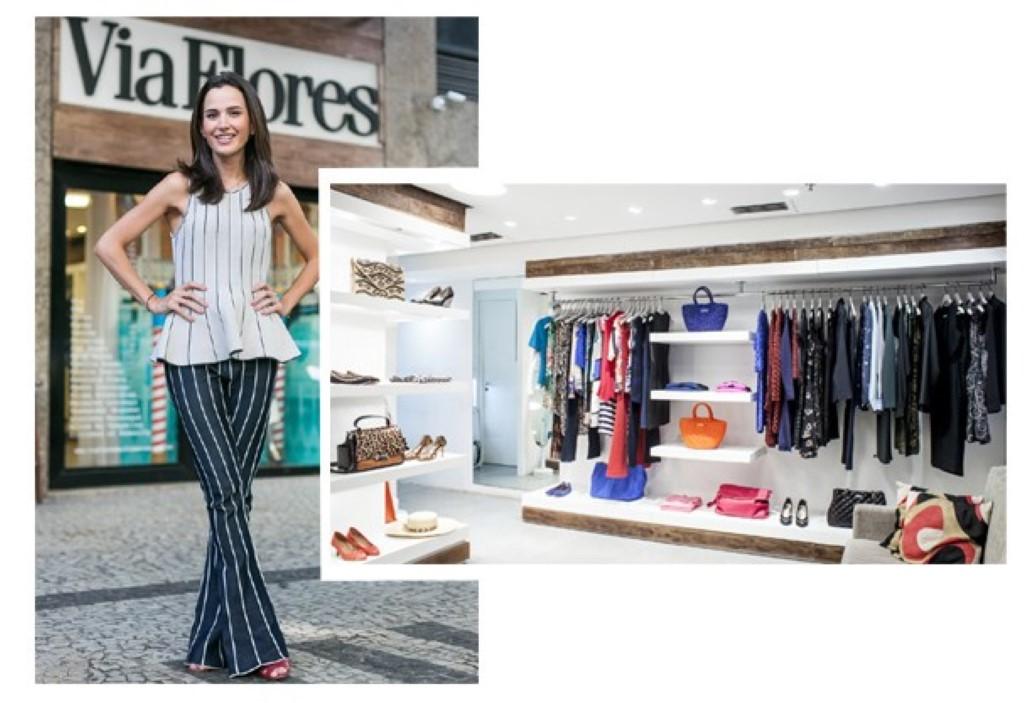 Via Flores Multimarcas a loja chique da mulher carioca
