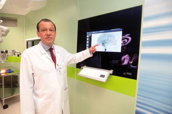 O neuro-cirurgião Paulo Niemeyer Filho