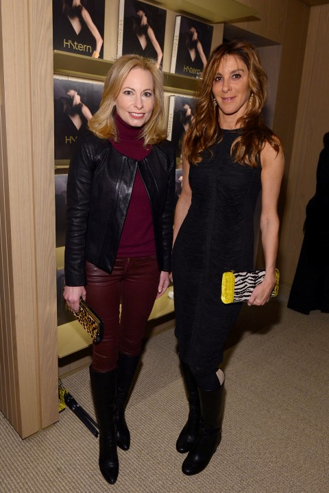 "NEW YORK, NY - FEBRUARY 11:  Gillian Miniter and Dori Cooperman attend the book launch of ""H.Stern"" published by Assouline on February 11, 2016 in New York City.  (Photo by Andrew Toth/Getty Images for Assouline)"