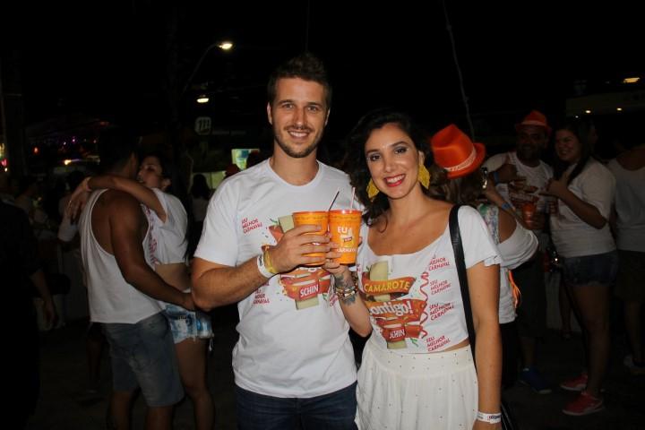 Miguel Thiré e Carol Fanju