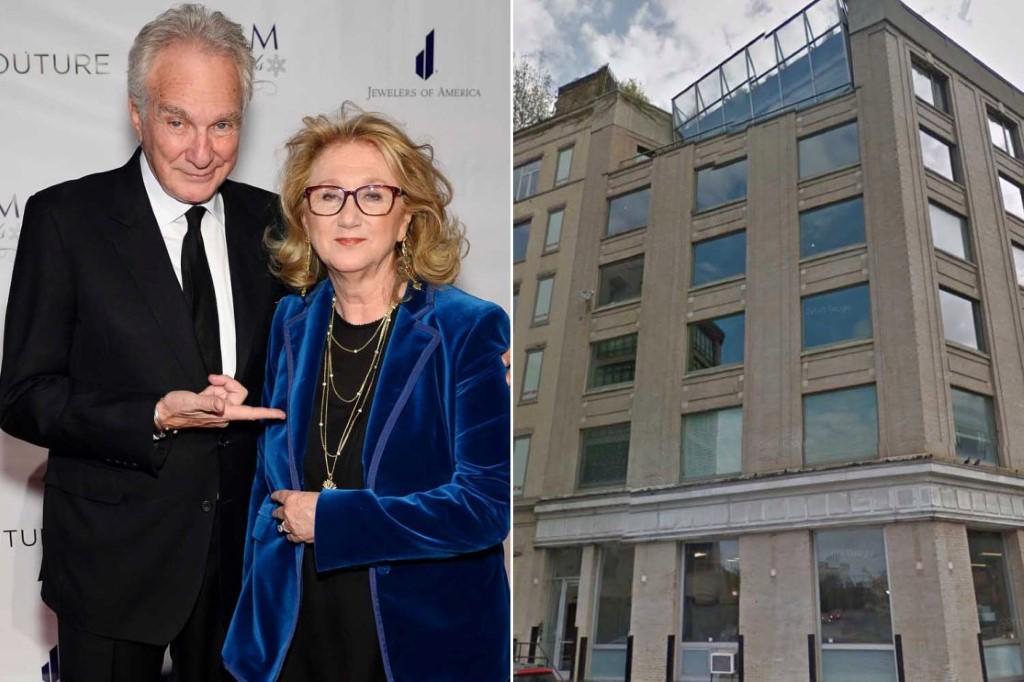 David Yurman e sua mulher Sybill e a penthouse em Nova York