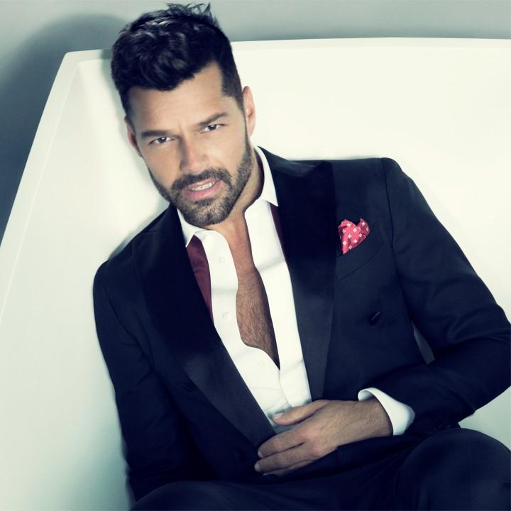 O top cantor Ricky Martin vem a São Paulo para apresentação no Inspiration Gala São Paulo