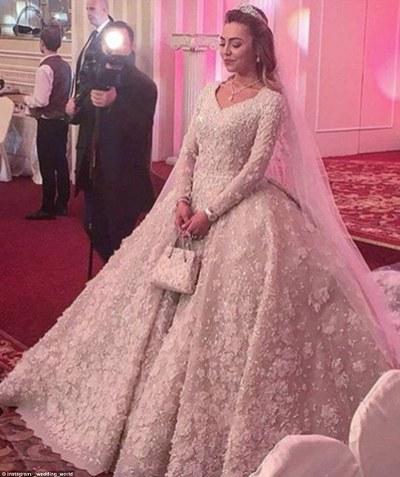 O casamento mais caro do mundo 1 bilhão de dolares foi gasto no casório de Said Gutseriev e Khadizha Uzhakhovs