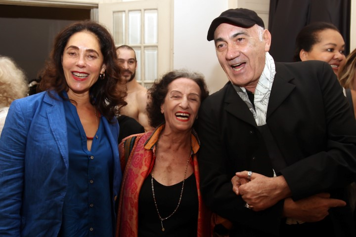Christiane Torloni, Angel Vianna e José Possi Neto (Custom)