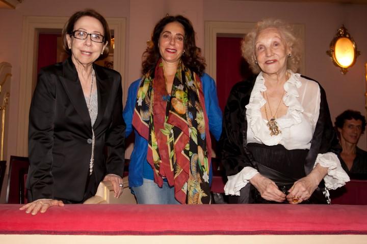 Fernanda Montenegro, Christiane Torloni e Monah Delacy (Custom)