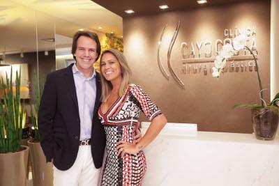O coquetel de abertura da Clinica Dr: Cayo Costa foi um sucesso no Centro Empresarial Le Monde