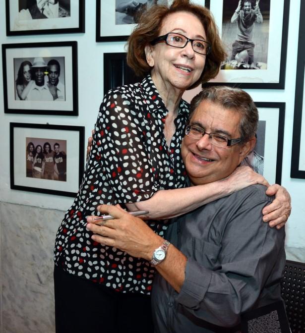 Fernanda Montenegro e  Flavio Marinho