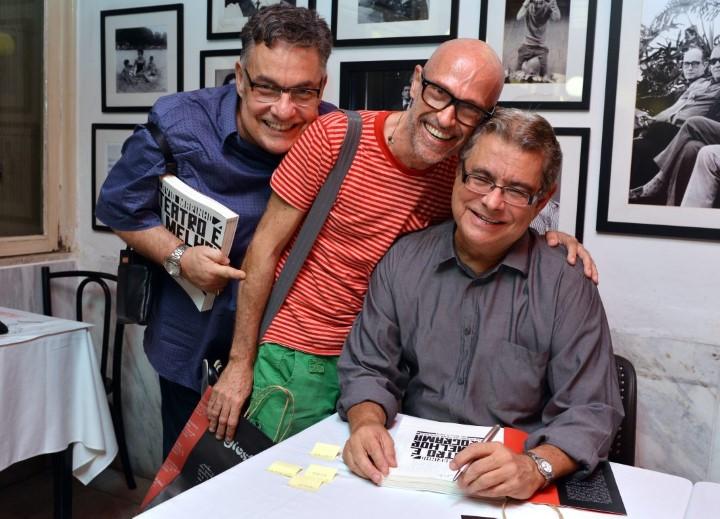 Lessa de Lacerda ,  Gilberto Gavronski  e Flavio Marinho