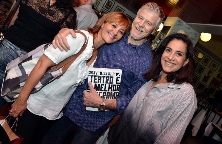 Claudia Netto , Miguel Falabella e Totia Meirelles