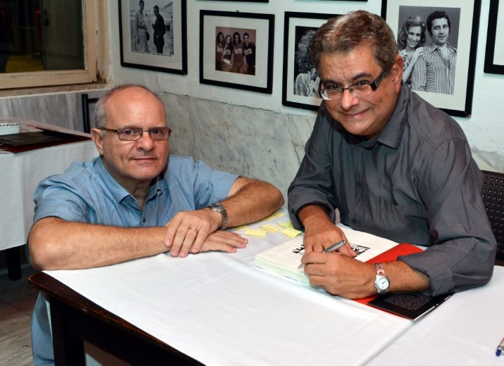Luis Erlanger e  Flavio Marinho