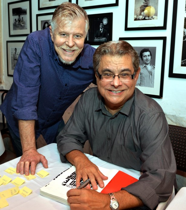 Miguel Falabella e Flavio Marinho