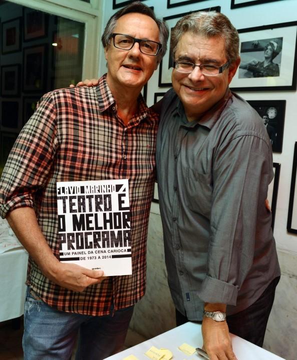Paulo Roberto Direito e Flavio Marinho
