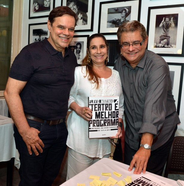 Diogo Vilella, Bia Nunnes   e Flavio Marinho