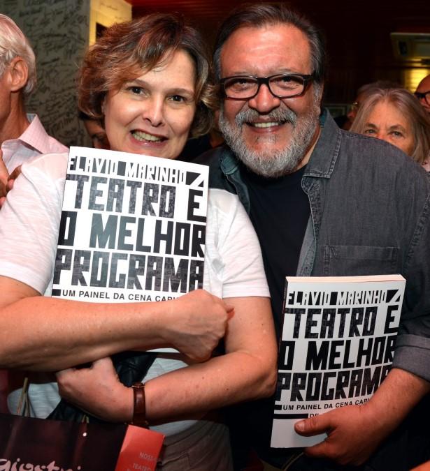 Louise Cardoso e Luis Melo