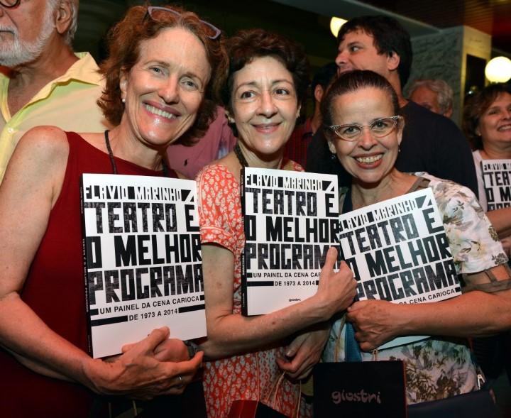 Betina Viany, Andrea Dantas e Cristina Pereira