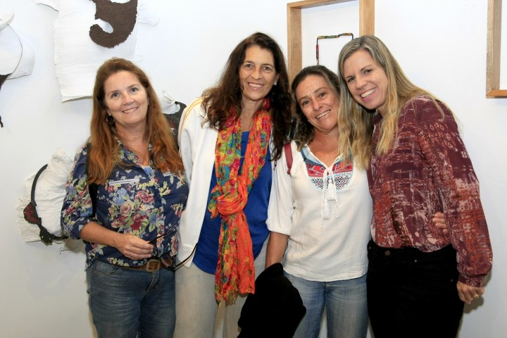 Jean Macintyre, Patricia Johnsson, Manuela Melo e Cristina Vellasco