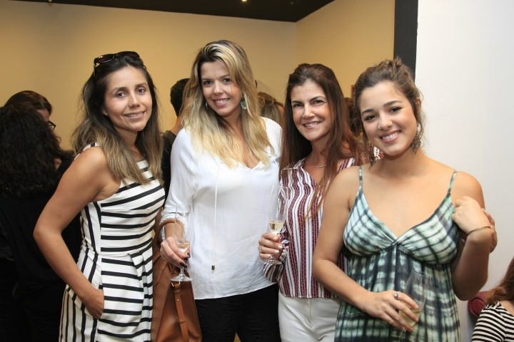 Vanessa Cardenas, Fabianne Pires, Bia Tourinho e Tamires Brasil