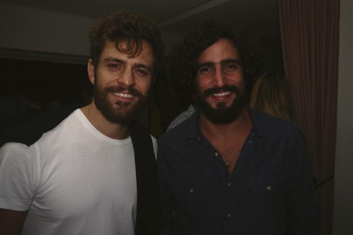 Alejandro Claveux e Renato Goés