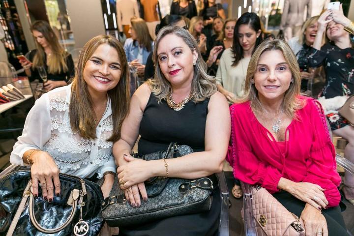 Alessandra Moura, Andrea Pereira e Marcia Principe