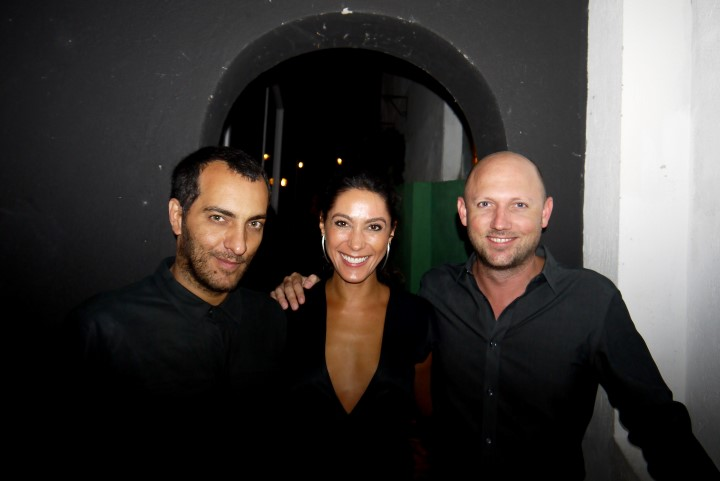 Candé Salles, Kessey Esteves e Parker Stanberry