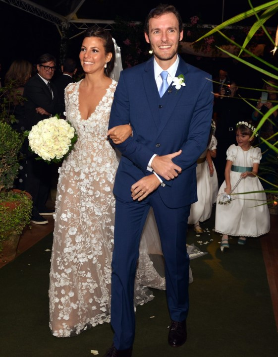 Nicole e  Ricardo Manela