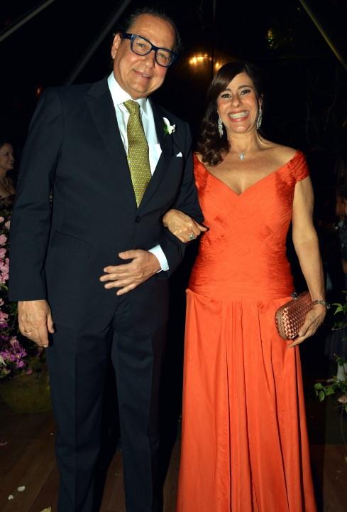 Nestor Rocha e Alice Tamborindeguy