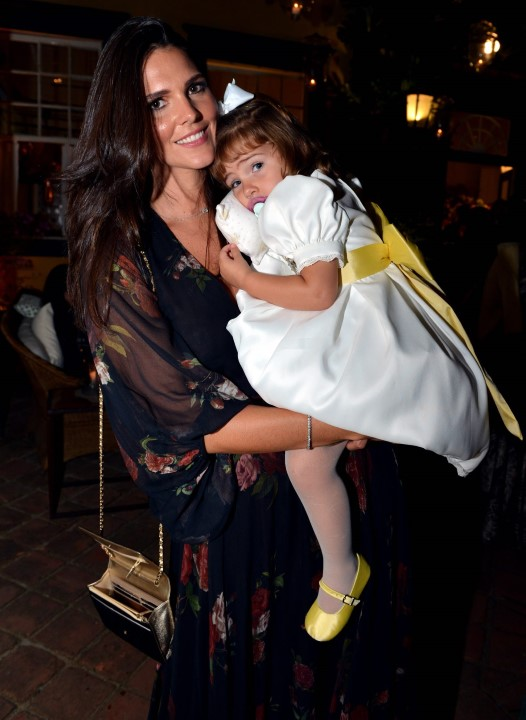 Daniella Sarahyba e filha Rafaella