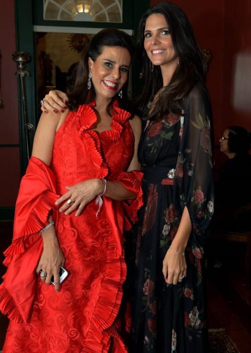 Narcisa Tamborindeguy e Daniella Sarahyba
