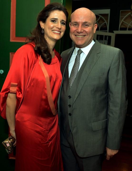 Mariana Tamborindeguy e Paulo Muller