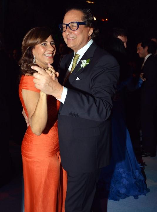 Alice Tamborindeguy e Nestor Rocha