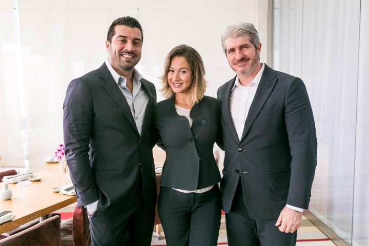 Everaldo Brame, Adriana Colombo e Ricardo Minelli