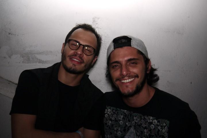 Fabinho Cal e Bruno Gissoni